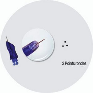 Aiguille-3points-rondes