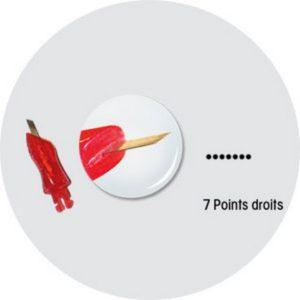 Aiguille-7points-droits-rangee-simple
